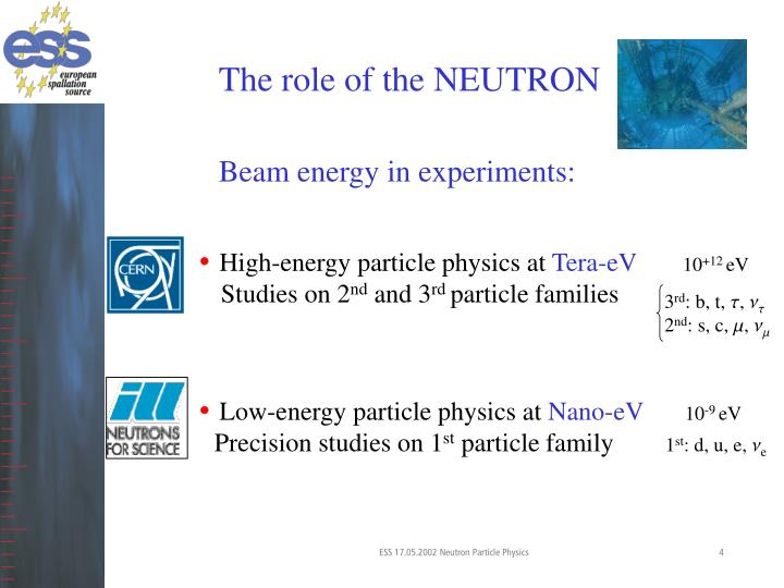 The role of the NEUTRON