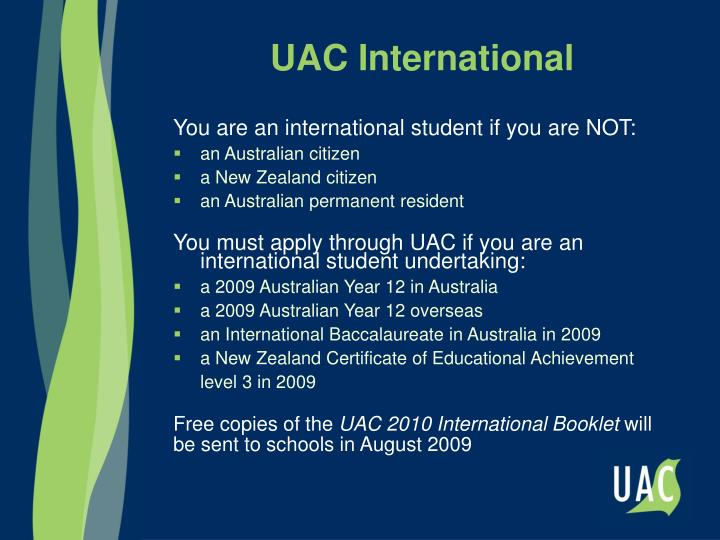 UAC International