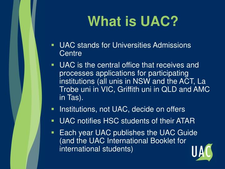 What is UAC?