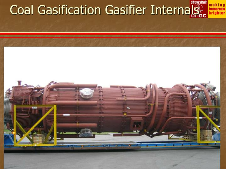 Coal Gasification Gasifier Internals