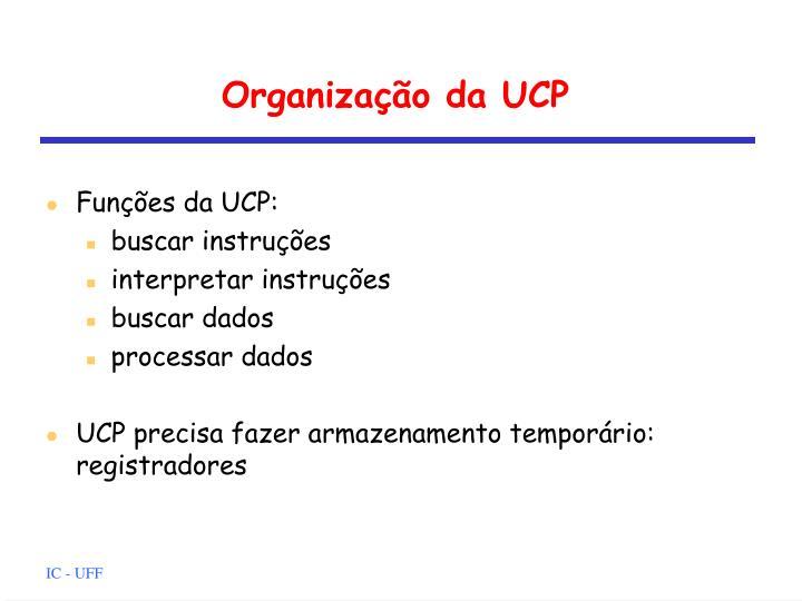 Organização da UCP