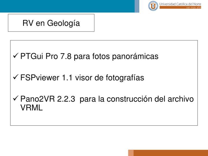 PTGui Pro 7.8 para fotos panorámicas