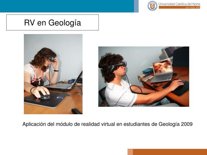 RV en Geología