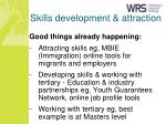 skills development attraction