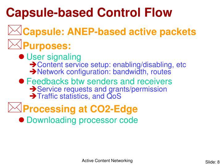 Capsule-based Control Flow