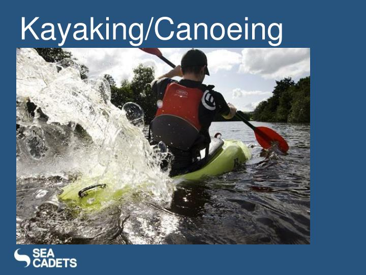Kayaking/Canoeing