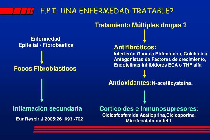 F.P.I: UNA ENFERMEDAD TRATABLE?