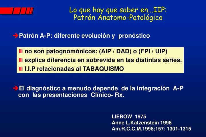 Lo que hay que saber en...IIP: