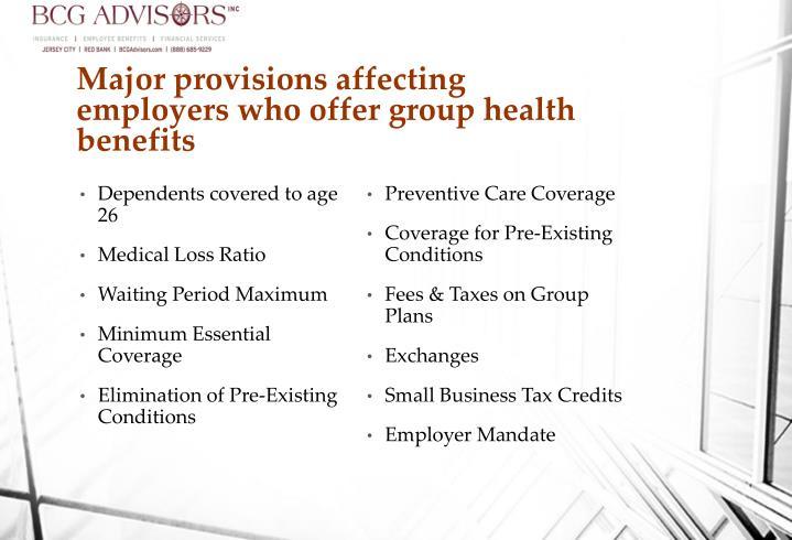 Preventive Care Coverage