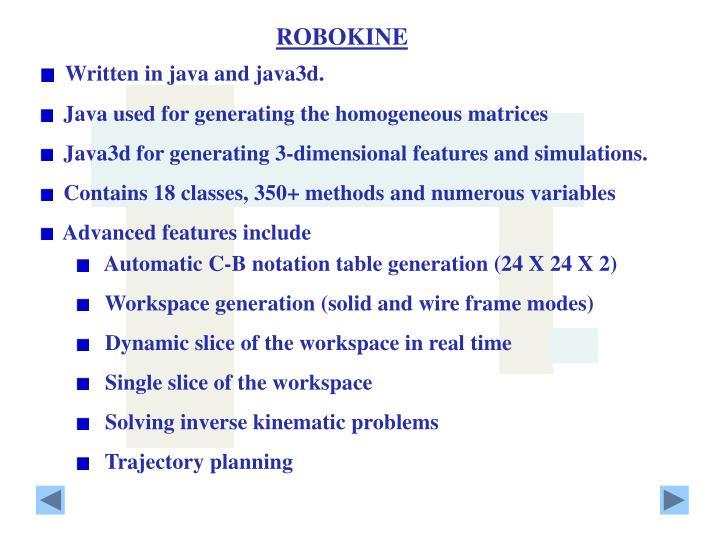 ROBOKINE