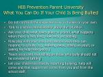 hib prevention parent university what you can do if your child is being bullied