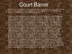 court baron