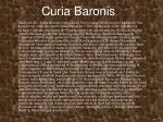 curia baronis