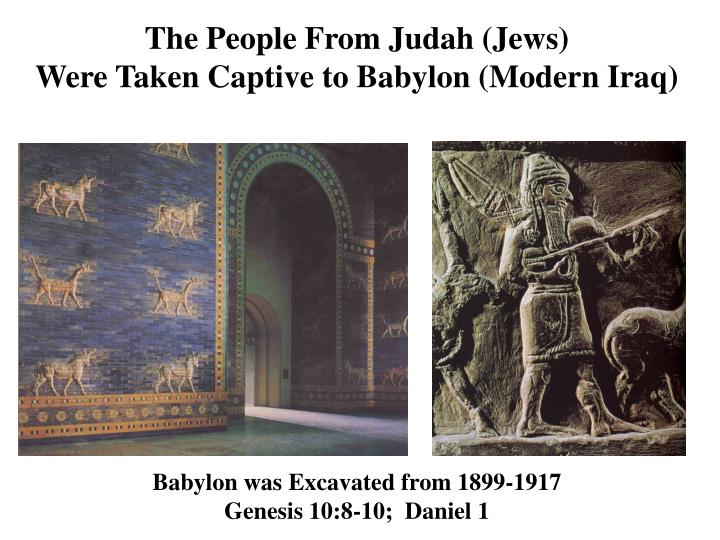 The People From Judah (Jews)