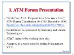 1 atm forum presentation