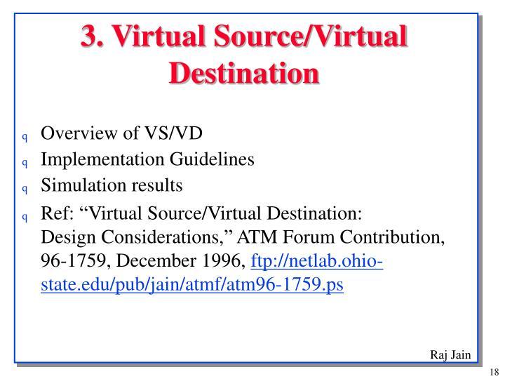 3. Virtual Source/Virtual Destination