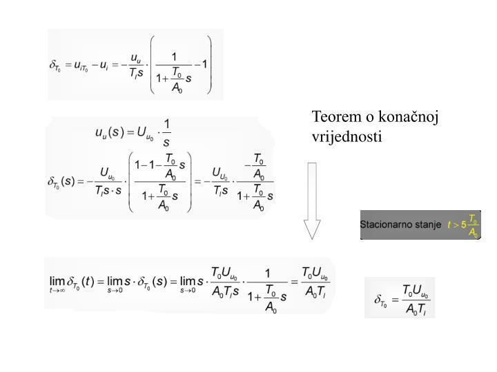 Teorem o konačnoj vrijednosti