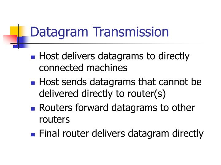Datagram Transmission