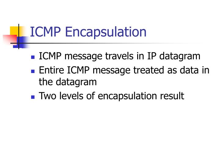 ICMP Encapsulation