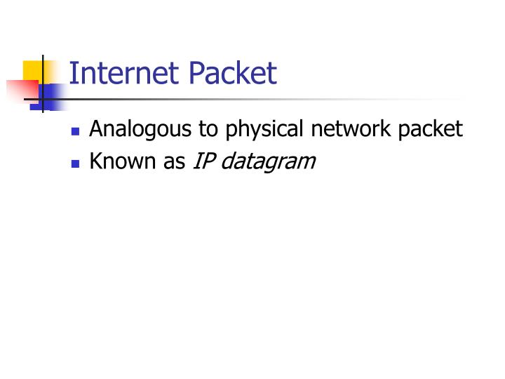 Internet Packet