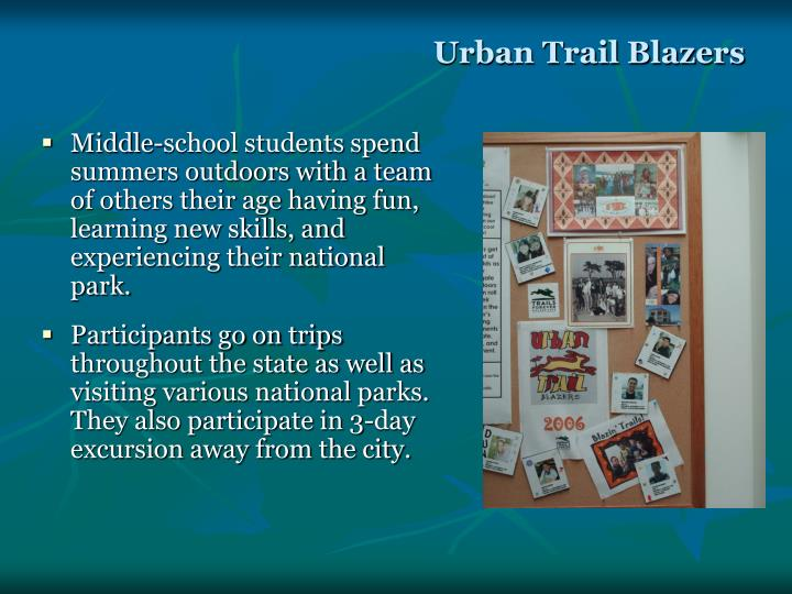 Urban Trail Blazers