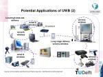potential applications of uwb 2