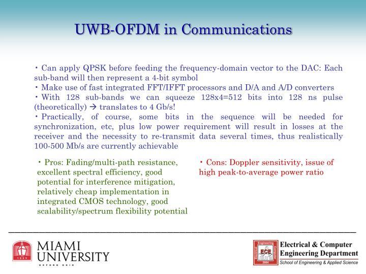 UWB-OFDM in Communications