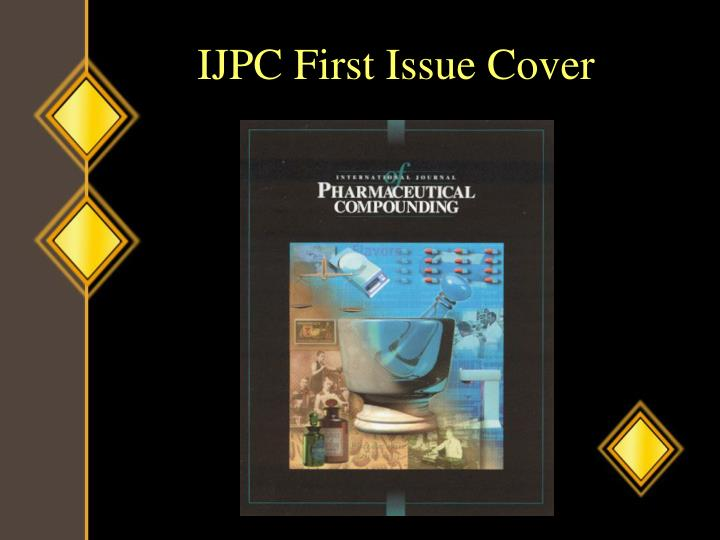 IJPC First Issue Cover