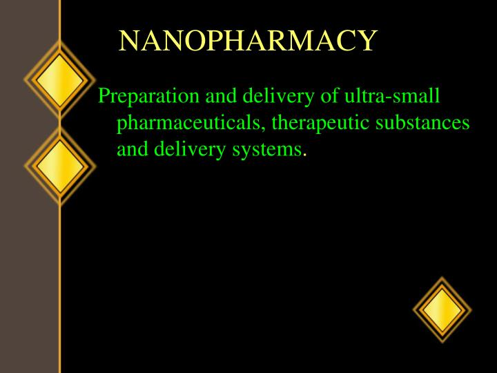 NANOPHARMACY