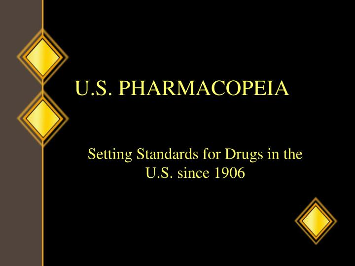 U.S. PHARMACOPEIA