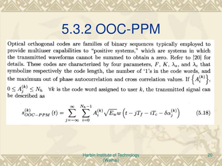 5.3.2 OOC-PPM