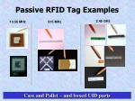 passive rfid tag examples