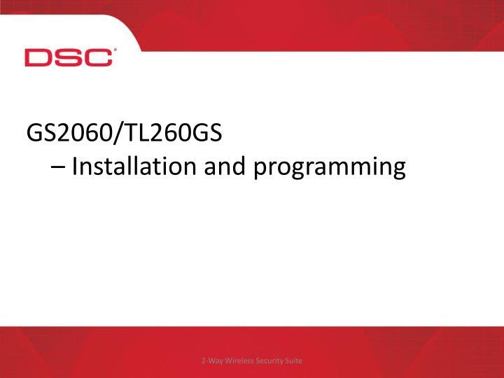 GS2060/TL260GS