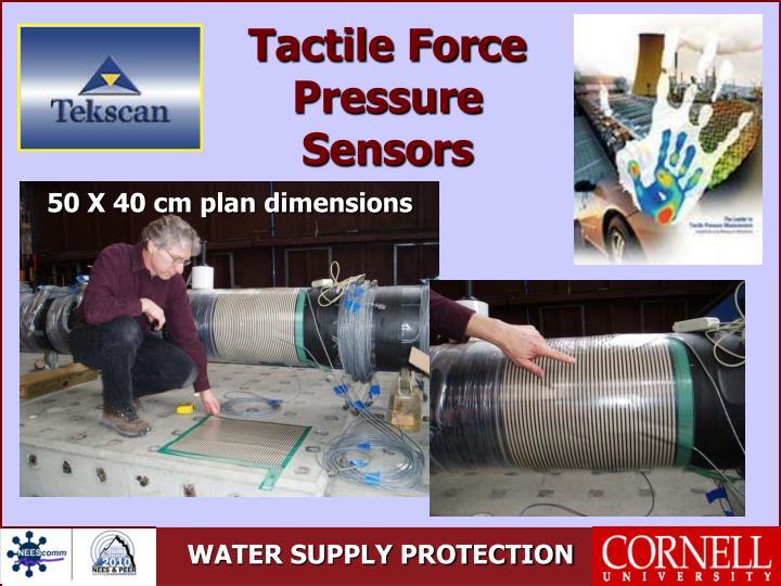 Tactile Force Pressure Sensors