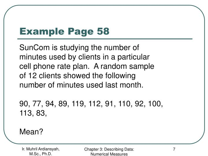 Example Page 58