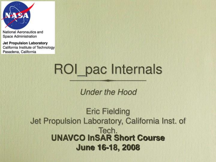 ROI_pac Internals
