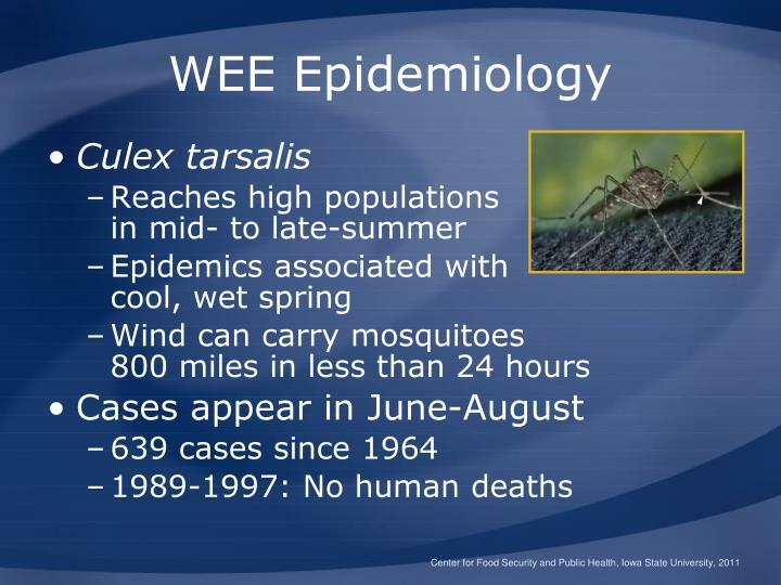 WEE Epidemiology