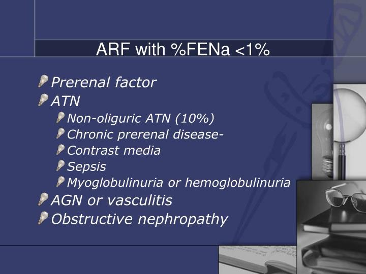 ARF with %FENa <1%