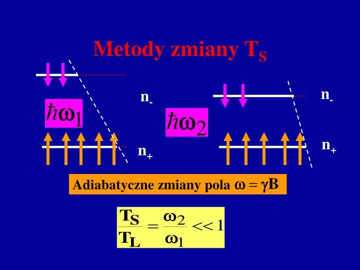 Metody zmiany T