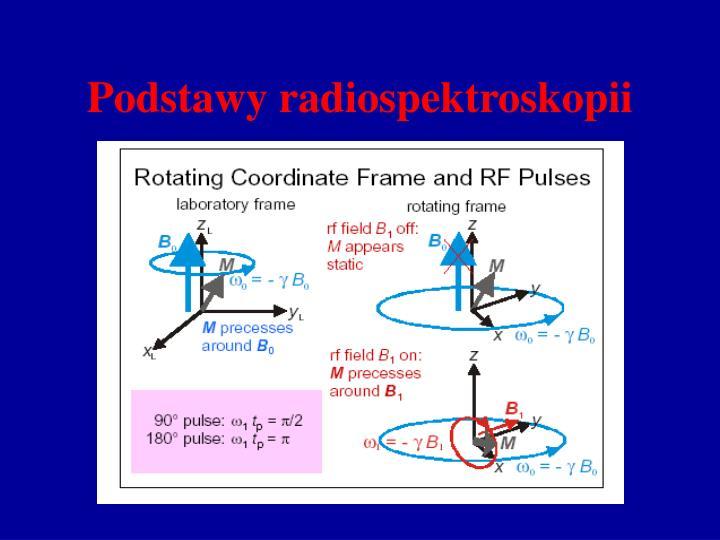 Podstawy radiospektroskopii