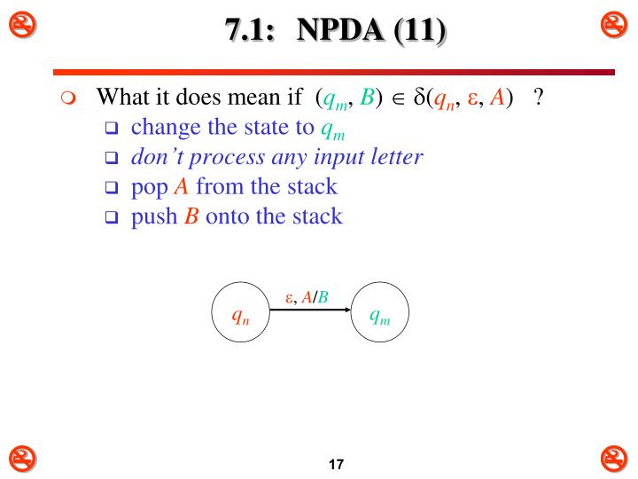 7.1: NPDA (11)