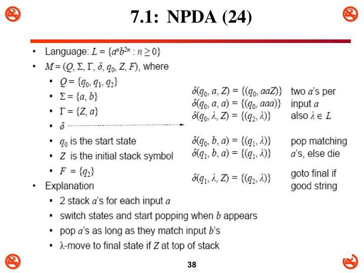 7.1:NPDA (24)