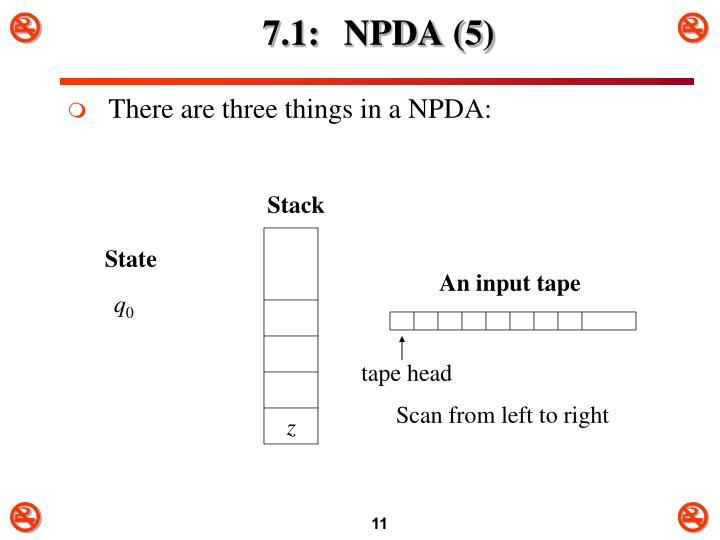 7.1: NPDA (5)