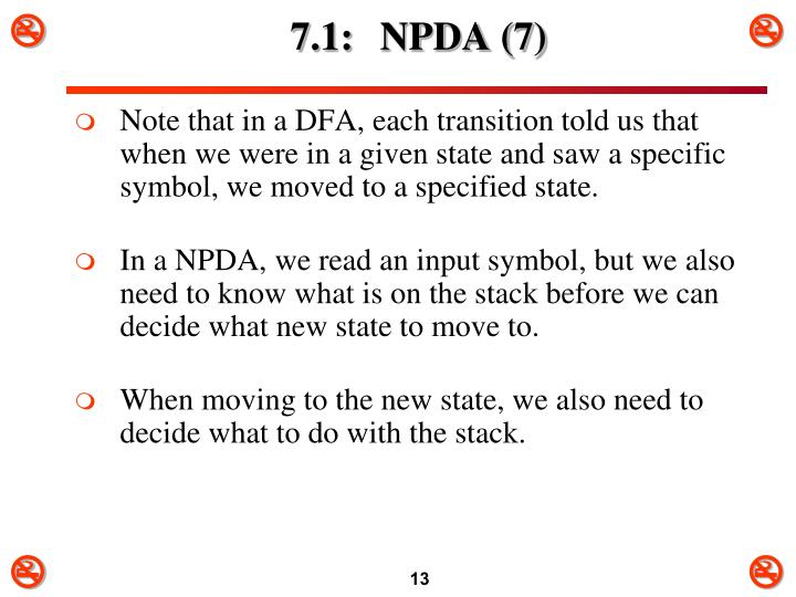 7.1: NPDA (7)