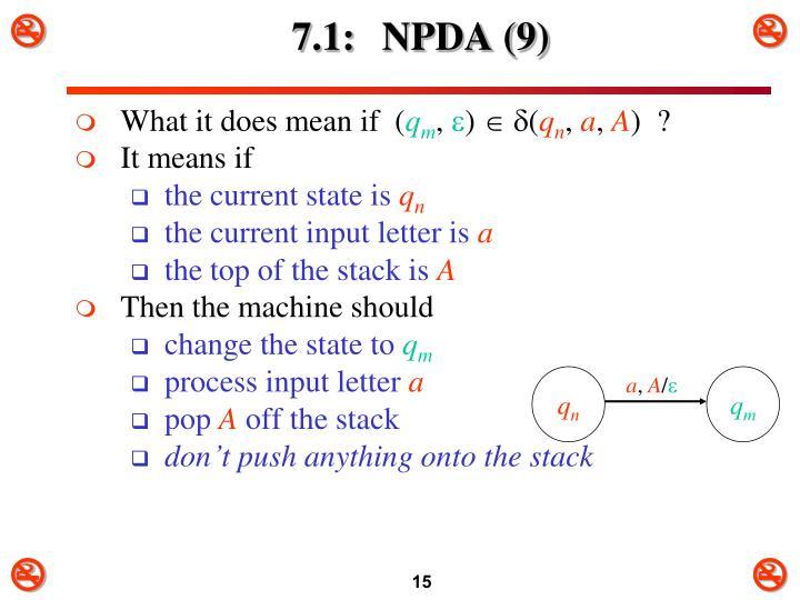 7.1: NPDA (9)