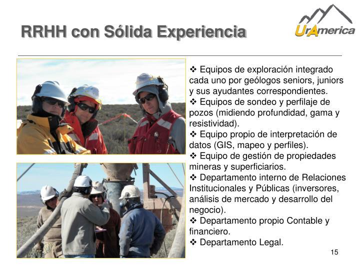 RRHH con Sólida Experiencia