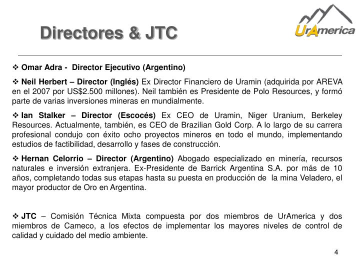 Directores & JTC