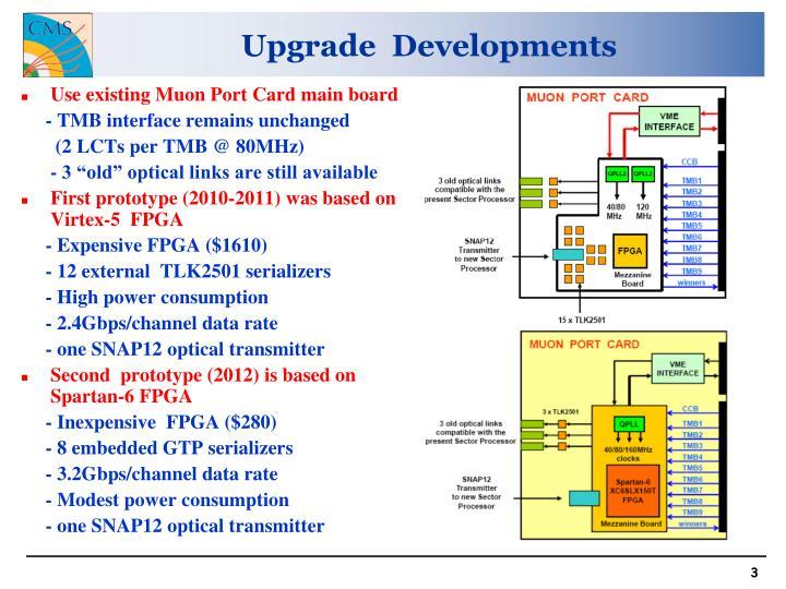 Upgrade  Developments