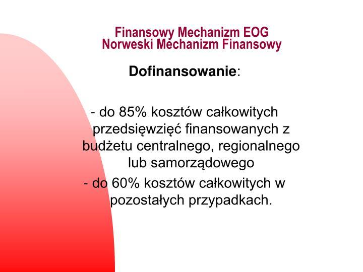 Finansowy Mechanizm EOG