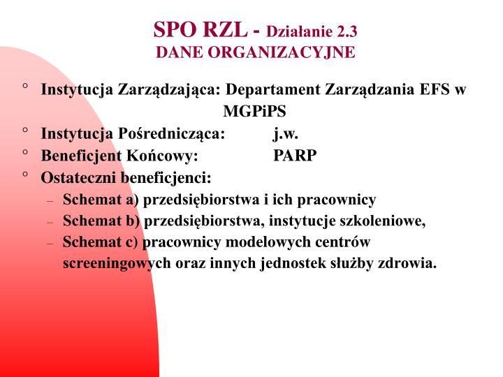 SPO RZL -